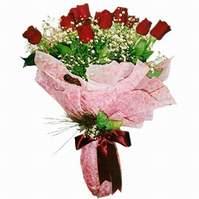 Kıbrıs çiçekçiler  12 adet kirmizi kalite gül