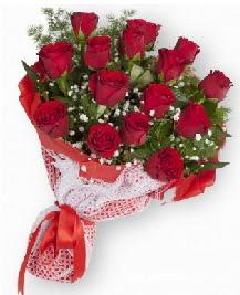 11 kırmızı gülden buket  Kıbrıs online çiçekçi , çiçek siparişi