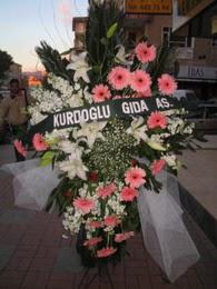 kazablanka,gerbera,sebboy ferforje  Kıbrıs internetten çiçek satışı