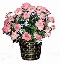 yapay karisik çiçek sepeti  Kıbrıs çiçek mağazası , çiçekçi adresleri