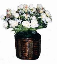 yapay karisik çiçek sepeti   Kıbrıs uluslararası çiçek gönderme