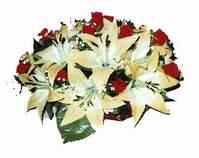 yapay karisik çiçek sepeti   Kıbrıs online çiçek gönderme sipariş