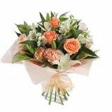 Kıbrıs hediye çiçek yolla  karisik buket tanzimi demeti - anneler günü çiçek buketi -