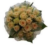 12 adet sari güllerden buket   Kıbrıs anneler günü çiçek yolla