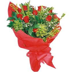 11 adet gül buketi sade ve görsel  Kıbrıs 14 şubat sevgililer günü çiçek