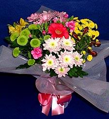 Kıbrıs çiçek siparişi sitesi  küçük karisik mevsim demeti