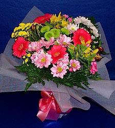 karisik sade mevsim demetligi   Kıbrıs hediye sevgilime hediye çiçek