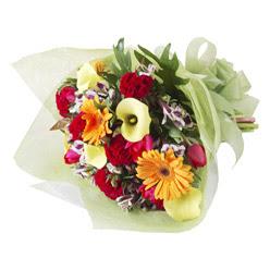 karisik mevsim buketi   Kıbrıs İnternetten çiçek siparişi