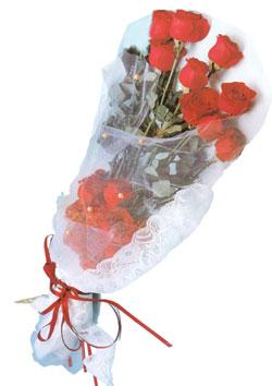 11 adet kirmizi güller buket tanzimi   Kıbrıs çiçekçiler