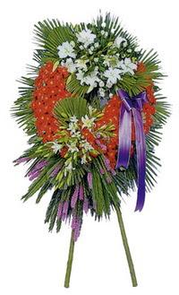 Kıbrıs uluslararası çiçek gönderme  cenaze çelengi