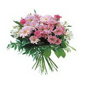 karisik kir çiçek demeti  Kıbrıs ucuz çiçek gönder