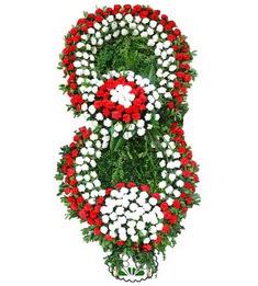 Görsel Cenaze çiçek , cenaze çiçek , çelengi  Kıbrıs anneler günü çiçek yolla