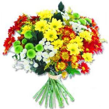 Kir çiçeklerinden buket modeli  Kıbrıs cicekciler , cicek siparisi