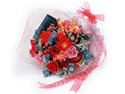 Karisik buket çiçek modeli sevilenlere  Kıbrıs anneler günü çiçek yolla