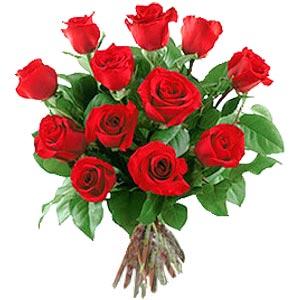 11 adet bakara kirmizi gül buketi  Kıbrıs online çiçekçi , çiçek siparişi