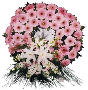 Cenaze çelengi cenaze çiçekleri  Kıbrıs cicek , cicekci
