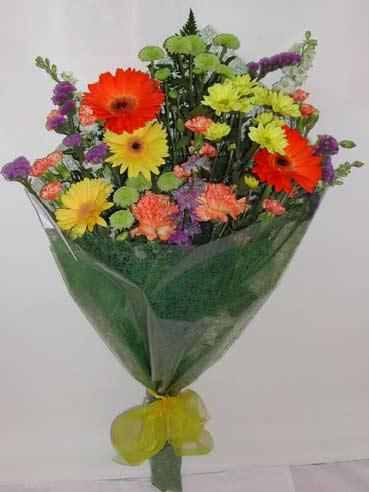 karisik kir çiçek buketi çiçek gönderimi  Kıbrıs 14 şubat sevgililer günü çiçek