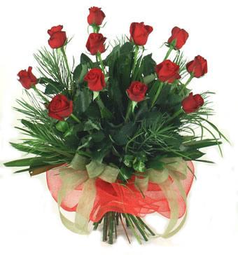 Çiçek yolla 12 adet kirmizi gül buketi  Kıbrıs online çiçekçi , çiçek siparişi