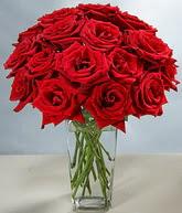 Kıbrıs internetten çiçek satışı  cam vazoda 11 kirmizi gül  Kıbrıs çiçek servisi , çiçekçi adresleri