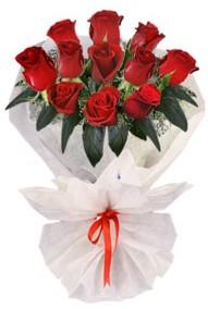 11 adet gül buketi  Kıbrıs online çiçek gönderme sipariş  kirmizi gül