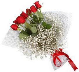 7 adet essiz kalitede kirmizi gül buketi  Kıbrıs çiçek servisi , çiçekçi adresleri