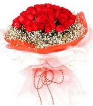 Kıbrıs çiçek servisi , çiçekçi adresleri  21 adet askin kirmizi gül buketi