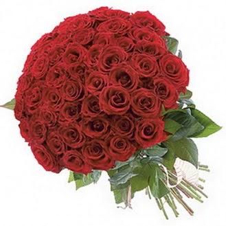 Kıbrıs online çiçekçi , çiçek siparişi  101 adet kırmızı gül buketi modeli