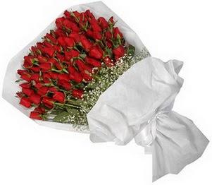 Kıbrıs çiçek yolla  51 adet kırmızı gül buket çiçeği