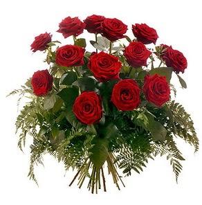 Kıbrıs internetten çiçek siparişi  15 adet kırmızı gülden buket