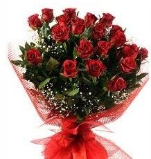 İlginç Hediye 21 Adet kırmızı gül  Kıbrıs online çiçek gönderme sipariş