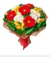1 demet karışık buket  Kıbrıs çiçek servisi , çiçekçi adresleri