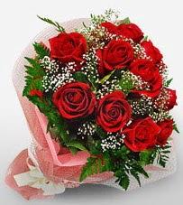 12 adet kırmızı güllerden kaliteli gül  Kıbrıs cicek , cicekci