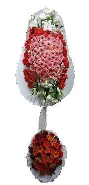 çift katlı düğün açılış sepeti  Kıbrıs internetten çiçek siparişi