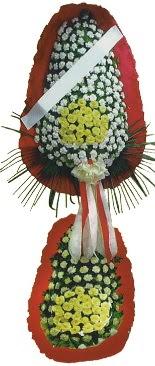 Çift katlı düğün açılış çiçeği  Kıbrıs kaliteli taze ve ucuz çiçekler