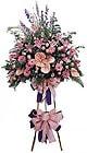 Kıbrıs online çiçekçi , çiçek siparişi   Ferforje Pembe kazablanka