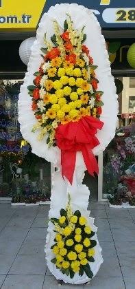 Çift katlı düğün nikah açılış çiçeği  Kıbrıs online çiçekçi , çiçek siparişi