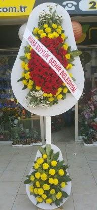 Çift katlı düğün nikah açılış çiçek modeli  Kıbrıs internetten çiçek satışı