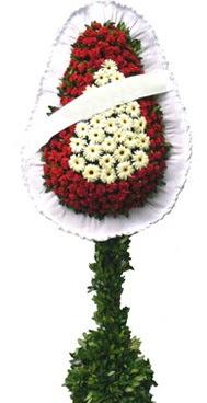 Çift katlı düğün nikah açılış çiçek modeli  Kıbrıs çiçek yolla