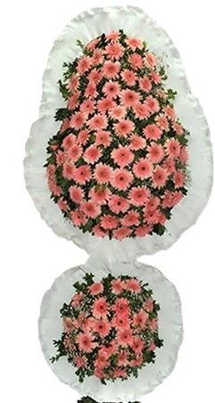 Çift katlı düğün nikah açılış çiçek modeli  Kıbrıs cicekciler , cicek siparisi