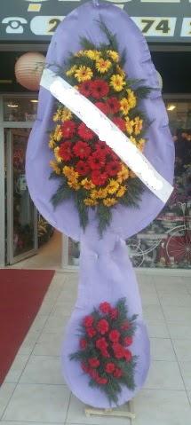 Çift katlı nikah düğüne çiçek modeli  Kıbrıs online çiçek gönderme sipariş