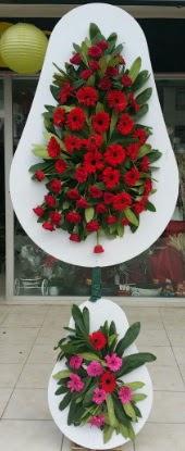 Çift katlı düğün nikah açılış çiçek modeli  Kıbrıs online çiçek gönderme sipariş
