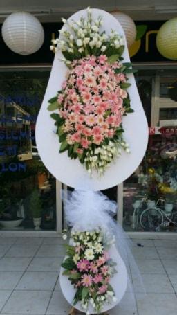 Çift katlı özel şahane sepet çiçeği  Kıbrıs çiçek , çiçekçi , çiçekçilik