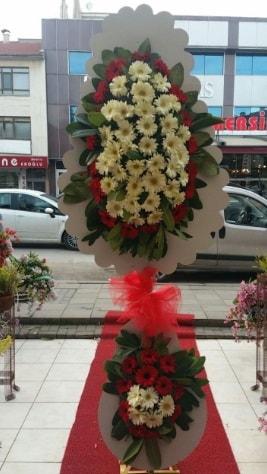 Çift katlı düğün açılış çiçeği  Kıbrıs ucuz çiçek gönder