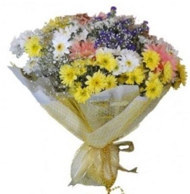 Karışık mevsim çiçeği  Kıbrıs ucuz çiçek gönder