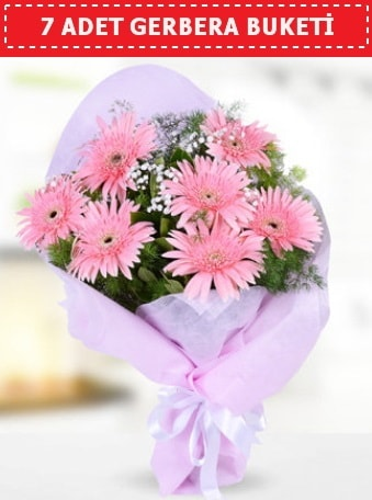 Pembe Gerbera Buketi  Kıbrıs hediye çiçek yolla