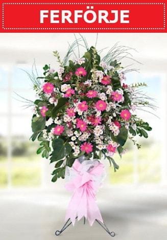 Ferförje düğün nikah açılış çiçeği  Kıbrıs çiçekçi telefonları